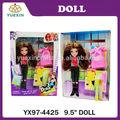 9.5 pulgadas barato de la muñeca del venta, promocional conjunto de muñecas