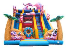 Super Giant Octopus Slide inflatable Giant Slide