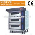 Vigevr commerciale gas forno per il pane/GPL forno/forno per il pane da forno a gas