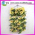 Süslemeleri sahte ayçiçekleri/yapay ayçiçeği