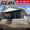 cheap light gauge steel structure villa prefabricated