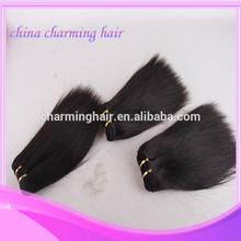 hot selling !!! italian coarsey yaki straight weave 100% human hair weaving virgin remy human hair extensions