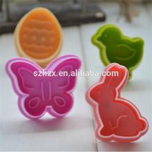 Pastel de la mariposa cortadores de émbolo, de alta calidad herramientas de pasta de azúcar