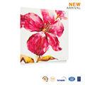 الجدار جدارية زهرة وحة زيتية على قماش الصور سهلة