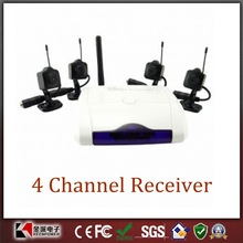 Wireless Camera Sets - 1/3 Inch OmniVision CMOS and 4 Channel Receiver
