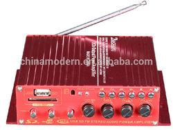 DASHAYU motorcycle amplifier mini car amplifier with usb fm