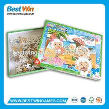 100 pezzi puzzle, 3d gatto puzzle, pieghevole gioco puzzle stuoia