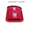 eco-friendly microwaveable beatiful plastic sandwich box