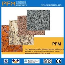 Flamed yellow stone granite tile bullnose edge