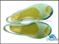 fashion tpu upper women dress shoes 2014