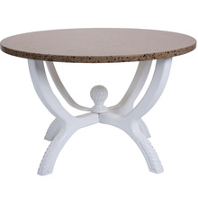 Factory directly wholesale custom solid surface 160cm round table top