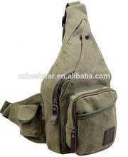 Fashion Men Satchel Shoulder Tide Chest Pack Crossbody Bag Sports Running Waist Bag