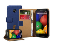 For Motorola Moto E Xt1022 Stand Wallet Leather Case Flip Cover
