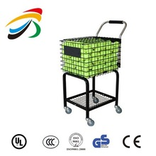 Tennis ball pick up basket storage plastic basket