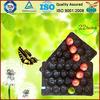 Black insert packaging tray for tomato