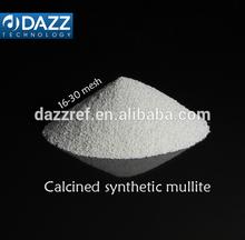 Calcined synthetic mullite M45, Burnt mullite M45, Sintered synthetic Mullite M45