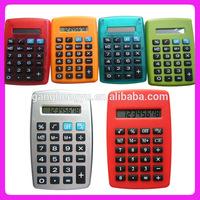 8-digits electronic mini pocket calculator,Red calculator
