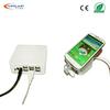 USB interface white 6-port burglar alarm system for mobile security display