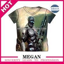 Wholesale stylish custom t shirts for sublimation printing
