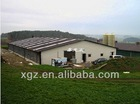 modern best price automatic chicken shed poultry farm in algeria