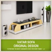 2014 latest modern led tv stand design TVT802