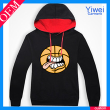 OEM Cotton Basketball Pullover China Wholesale Custom Hoodie for Men