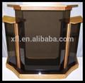 Venda quente por atacado de madeira púlpito da igreja para/vidro púlpito da igreja para/acrílico púlpito da igreja