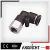 A144(PLF)Hot sale pvc pipe connector plastic pneumatic speed controller fitting