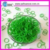 600pcs/bag packing rubber band factory direct buy rubber bands