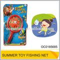 funny la captura de peces de juguete de los niños de plástico mini juguete de la pesca con redes de luz oc0185685
