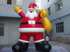 commercial lovely inflation model, customized cartoon body inflation, inflatable christmas cartoon lovely
