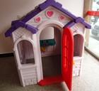 Garden HDPE children plastic toy house blow molding