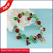China Import Direct Christmas Tree Bracelet Plastic