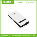 EDUP EP-9512N 150Mbps pocket WiFi 3G Wireless Network Router/WiFi Disk/Repeater/AP 4500mAh polymer Batteries Built-in