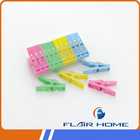 European Famous Hot Household Durable Circle Spring Plastic Pegs for Clothes Hanging