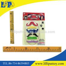 Nylon Party make up moustache