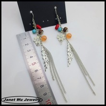 BEST wholesale elegant fashion zinc alloy women earrings charms drop earrings