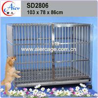 Factory wholesale pet crate puppy kennels
