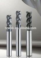 endmill cnc lathe high precision cutting tools/tungsten carbide long shank 2 flutes ball nose endmill milling cutter/cnc cutter