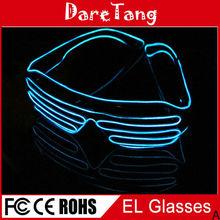 Fashion el glasses,el equalizer glasses,el wire glasses