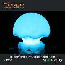 PE plastic LED lighting decoration LED lamp table decor LED decoration