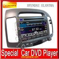 ขายรถร้อนเครื่องเล่นดีวีดีgpsสำหรับฮุนไดelantraซอฟต์แวร์