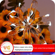White Highlight waterproof garden led mini starry lights for holiday bicycle decoration