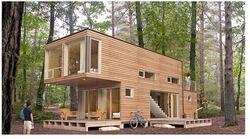 luxury prefabricated wooden house/ villa