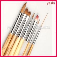 YASHI kolinsky acrylic nail brush nail gel brush wholesale