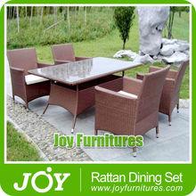 Garden Rattan Chair Set Synthetic Rattan Outdoor Furniture
