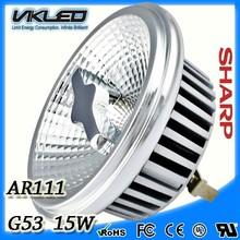 AR111 G53 15 w 100%Aluminum