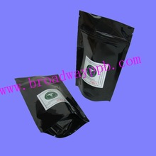 Eco friendly biodegradable ziplock stand up pouch packaging for food