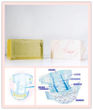 China supply elastic adhesive for star baby soft diaper