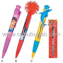 2015 hot selling animation pen/ animation cartoon pen/ animation print pens